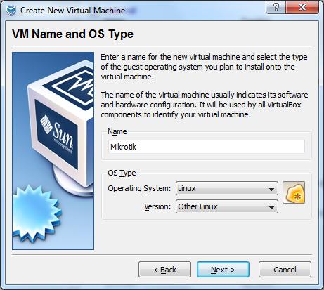 Install MikroTik RouterOS on VirtualBox – Techonia