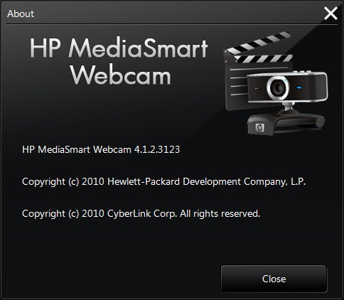 HP Mediasmart Webcam