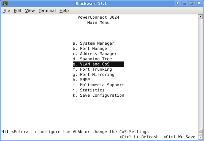VLAN / Trunk Config in DELL PowerConnect 3024 Switch – Techonia