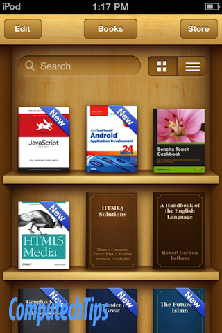 How To Make iPhone / iPad / iPod Touch as an E-Book Reader – Techonia