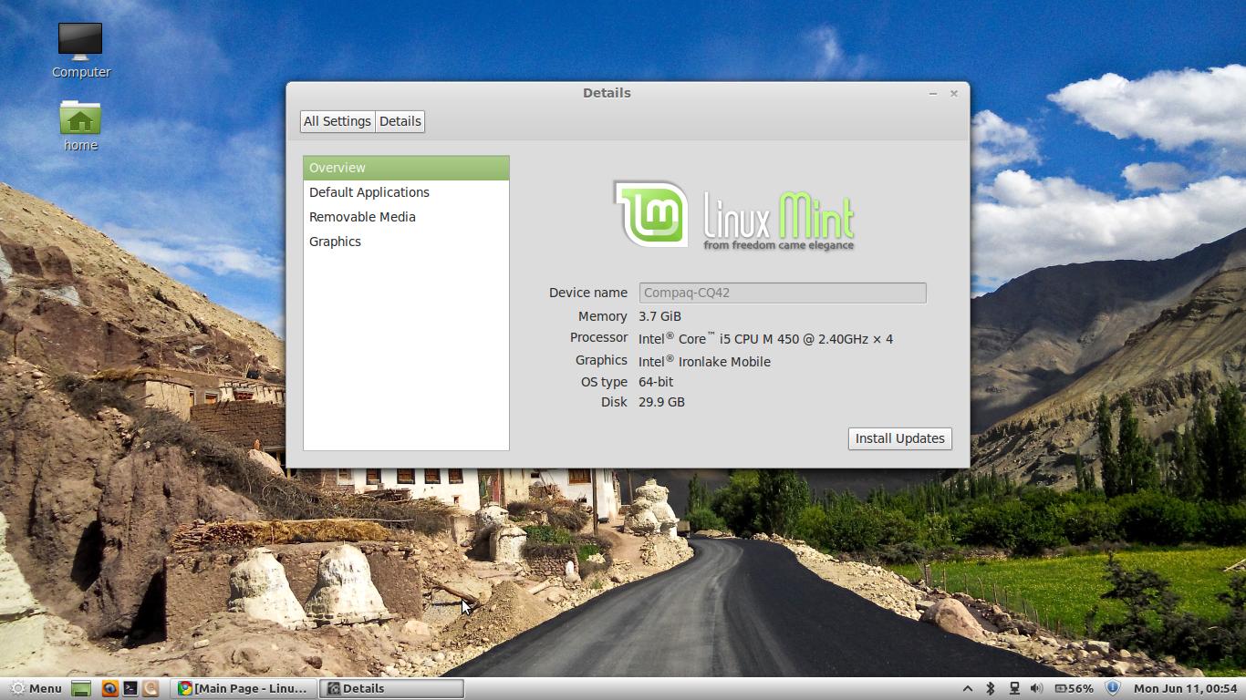 Linux Mint 13 'Maya'