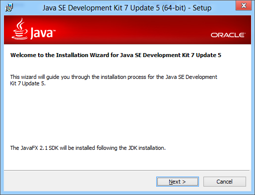 Java SE 7 on Windows 8