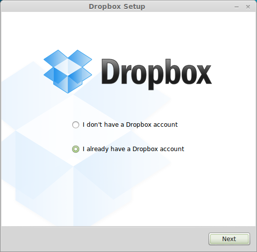 Dropbox in Linux Mint