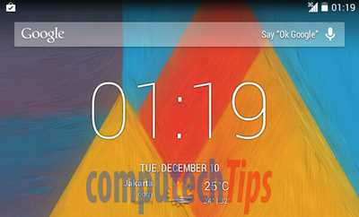 Enable transparent status bar in GT-P1000 with Android 4 4 1