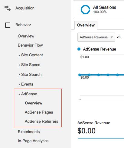 Link Google Analytics to Adsense step 6