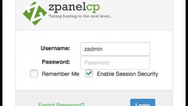 zpanel-login-page
