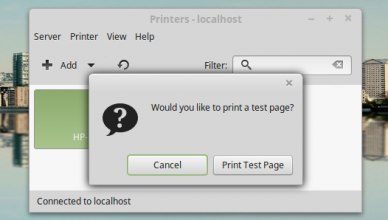 HP LaserJet 3055 on LinuxMint