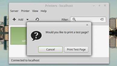 HP LaserJet 3055 on LinuxMint