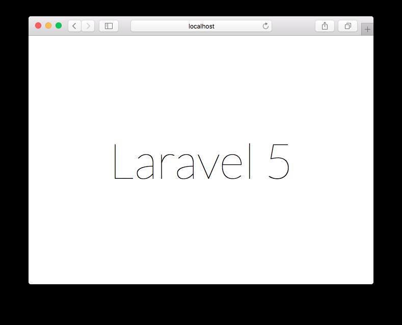 Laravel OS X El Capitan