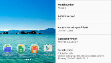 android 6 marshmallow screenshot