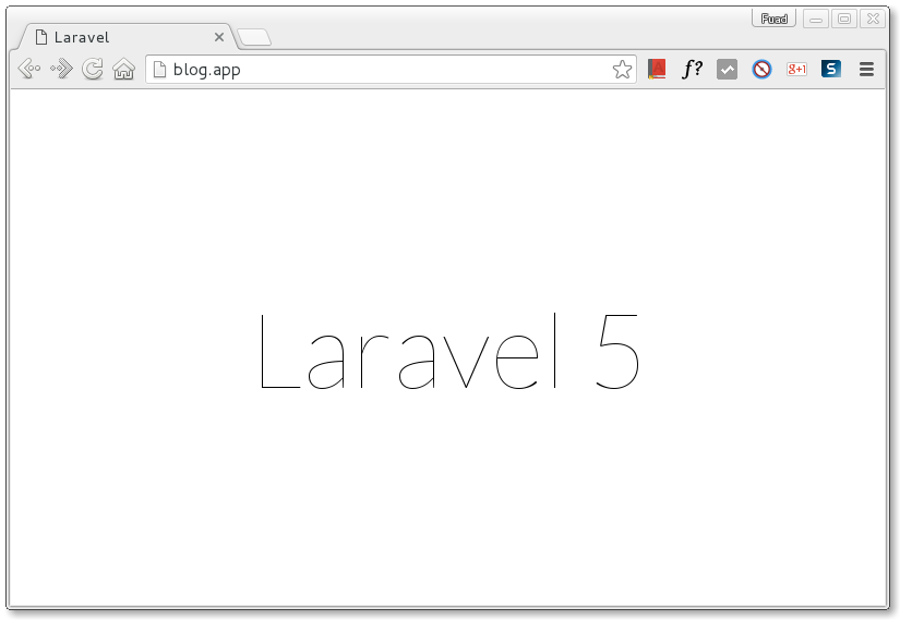 Laravel Homestead on CentOS 7
