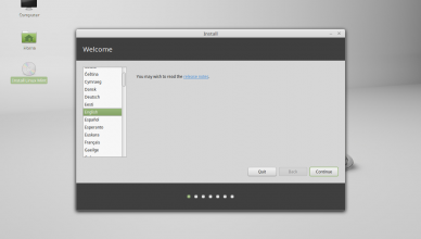 install linuxmint macbook